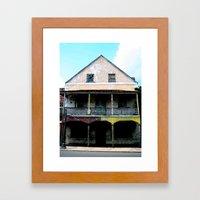 Abandon Building Framed Art Print
