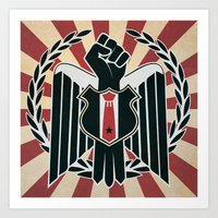 Authority and Rebellion Art Print