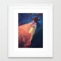 The Light Eater Framed Art Print