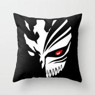 Hollow Man Throw Pillow