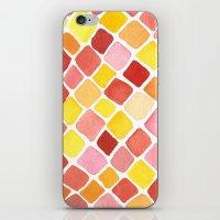 Strawberry Grid iPhone & iPod Skin