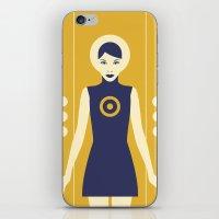 Isolde Yellow iPhone & iPod Skin