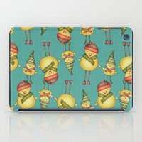 Two Chicks Pattern iPad Case