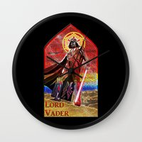 STAR WARS Stained Glass … Wall Clock
