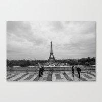 Paris Skyline  Canvas Print