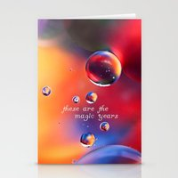 These Are The Magic Year… Stationery Cards