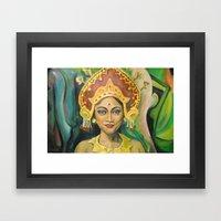 Dewa Ayu Eka Framed Art Print