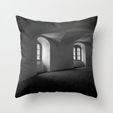 Inside the Round Tower Throw Pillow