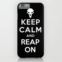 Keep Calm and Reap On iPhone 6 Slim Case