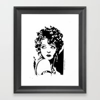 Clara Bow Framed Art Print