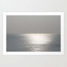 Endless Ocean Art Print