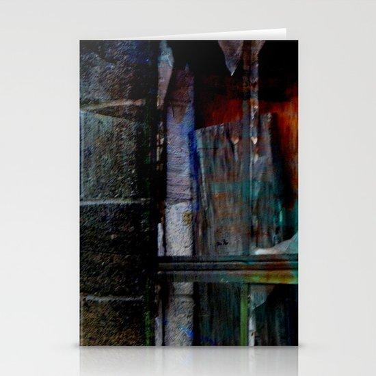 Through Yonder Window Breaks Stationery Card