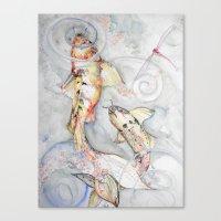 Koi 2 Canvas Print