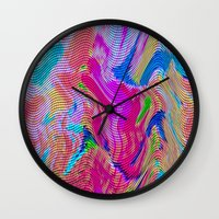 Tapestry Wave Wall Clock