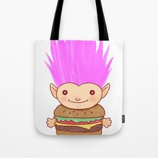 Hamburger Troll Tote Bag