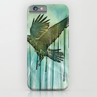 iPhone & iPod Case featuring Raven Sky by vin zzep