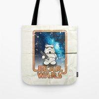Bear Wars Vintage - Bear Trooper Tote Bag