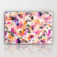 Chic Floral Pattern Pink… Laptop & iPad Skin