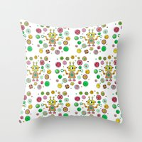 Robot Rita Throw Pillow