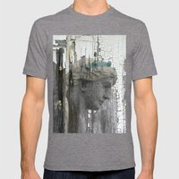 Grace Mens Fitted Tee Tri-Grey SMALL