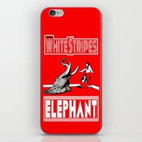 The White Stripes  |  El… iPhone & iPod Skin