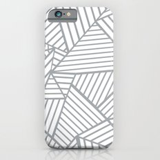 Abstraction Lines Zoom Grey iPhone 6s Slim Case