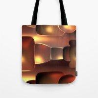 Copper Toned Tote Bag