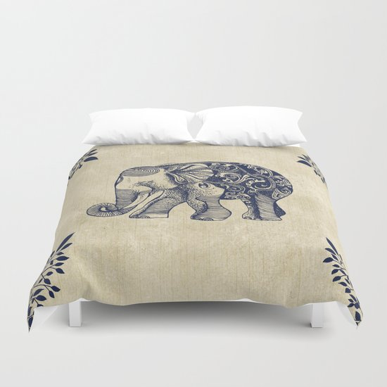 Simple Book Cover Queen : Simple elephant duvet cover by rskinner society