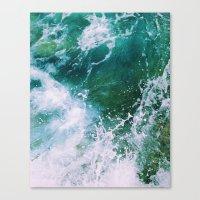 Waves pt. 2 Canvas Print