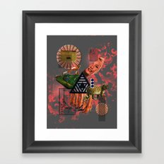 What Went Before Part 2 Framed Art Print