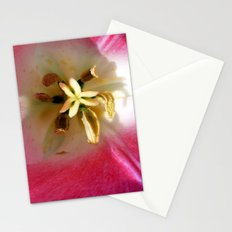 To Be Inside a Tulip Stationery Cards