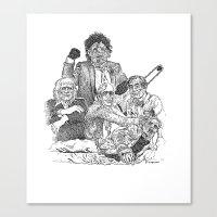 Texas Chainsaw Massacre … Canvas Print