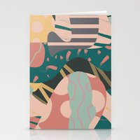 Tribal Pastels Stationery Cards