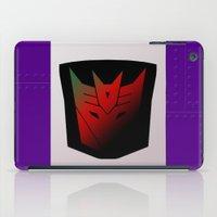 Transformers Generation 1: Rub Sign: Decepticon! iPad Case