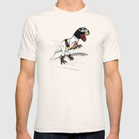 T-Rex (The X Roarcer) Mens Fitted Tee Natural SMALL