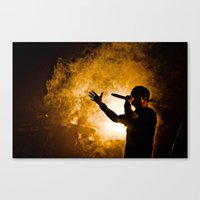 Fire. Canvas Print