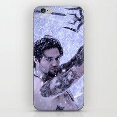 Bam Bam the Snow Warrior iPhone & iPod Skin