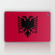 Albania Flag Laptop & iPad Skin