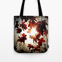 Autumn's Last Stand Tote Bag