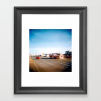 USA With Fries 03 Framed Art Print
