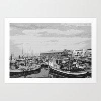Skech port Art Print