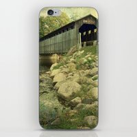 Flat River Covered Bridge iPhone & iPod Skin