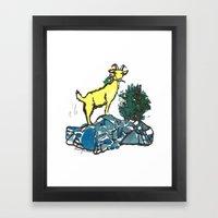 Goatie McGoatersons (col… Framed Art Print