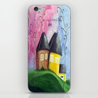 House A Home iPhone & iPod Skin