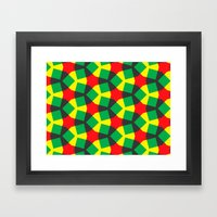 Terheijden Pattern Framed Art Print