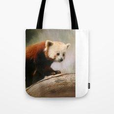 The Panda Red Tote Bag