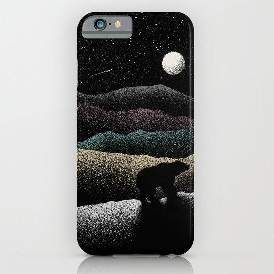 Wandering Bear iPhone & iPod Case
