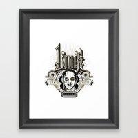 Lou's Tavern  Framed Art Print