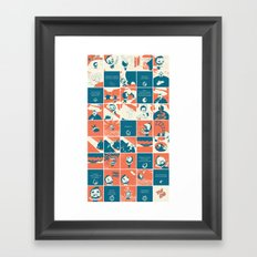 There Goes The Neighborhood Framed Art Print