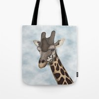 Giraffe Fun Tote Bag